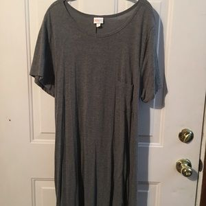 3XL MEDIUM GRAY CARLY BY LULAROE